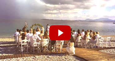 Piedra del mar Wedding ceremony